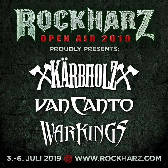 Drei weitere Bands für das RockHarz 2019