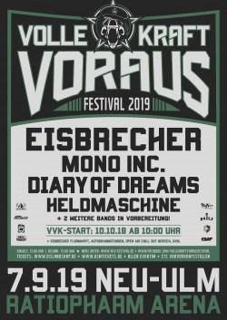 """Das """"Volle Kraft Voraus"""" Festival 2019 wirft ersten Schatten voraus"""